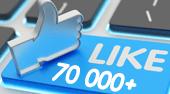 naša facebook fanpage má už viac  ako 70000 fanúšikov