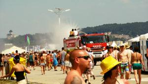 horúce počasie a hot atmosféra na festivale Pohoda