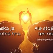 láska je riskantná hra