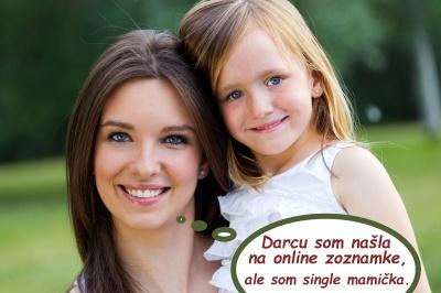 Single mamička s dcérou