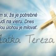 citát Matky Terezy
