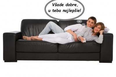 Dvojica na gauči