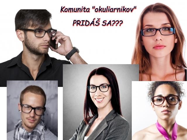 Komunita ľudí s okuliarmi