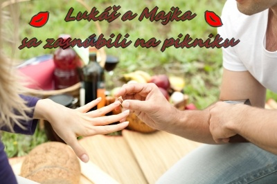 Zásnuby na pikniku