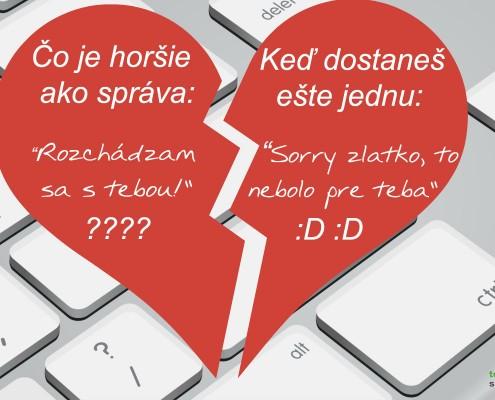rozchod cez internet