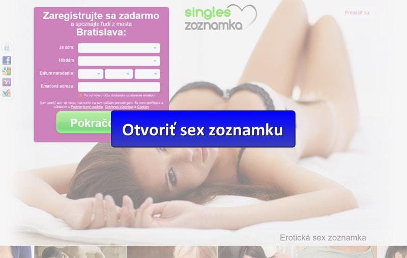 sex zoznamka singles - náhľad s tlačidlom