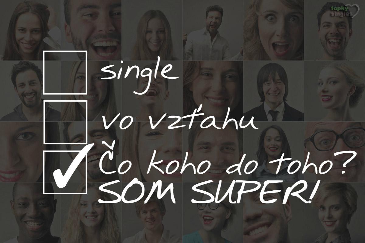dotazník: single, vo vzťahu, čo je koho do toho, som super