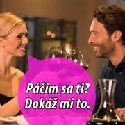Romantická večera vo dvojici