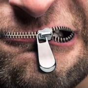 zavreté ústa