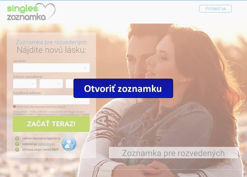 zoznamka pre rozvedených - screenshot